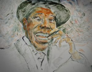 illustration LouisArmstrong