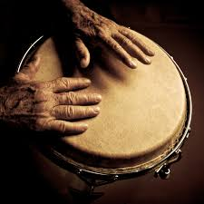 hands on bongos