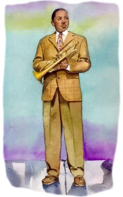 illustration WyntonMarsalis