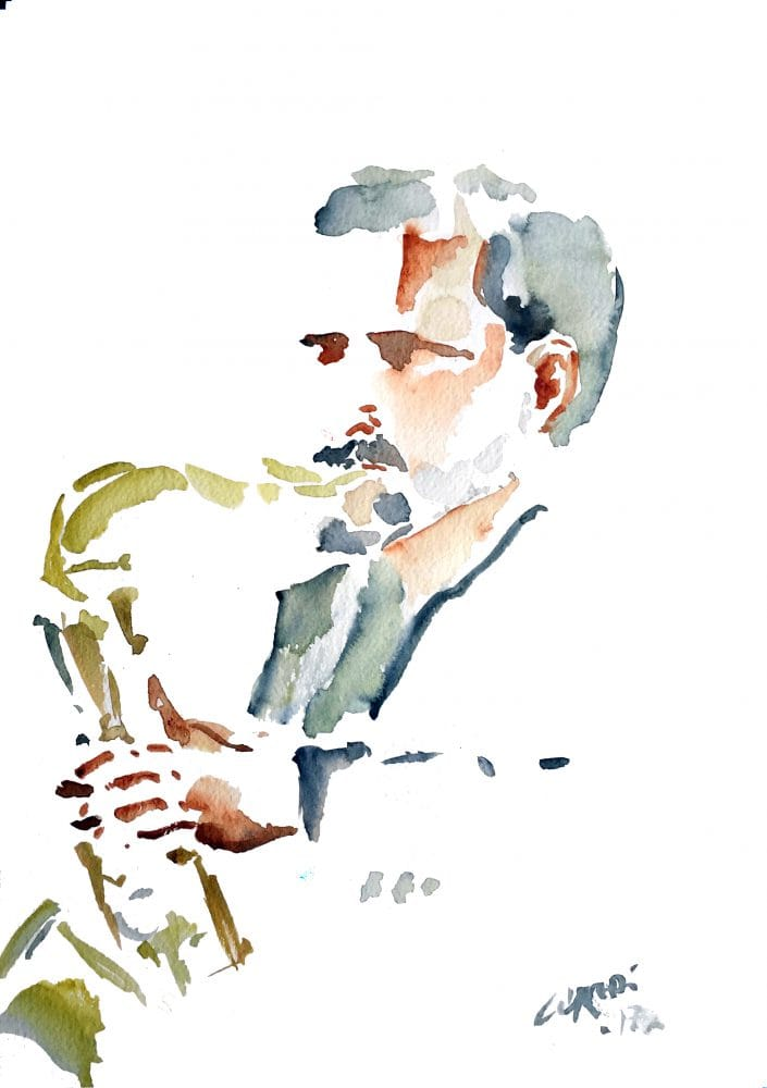 illustration sax AndySnitzer