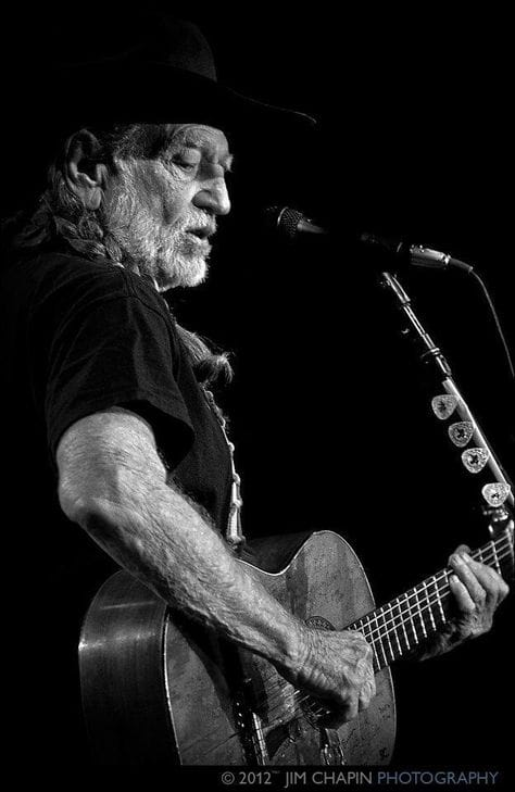 BW Great Pic WillieNelson