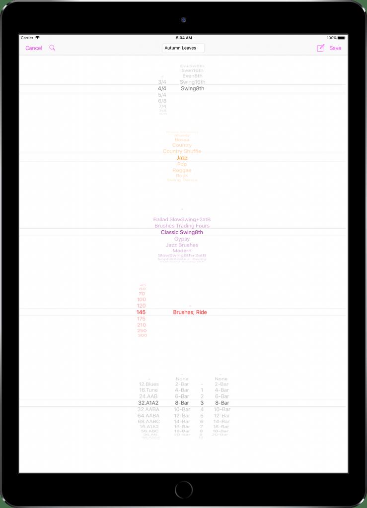 En amerikansk iPad Pro 12,9 tommer 02 PickersScreen indrammet