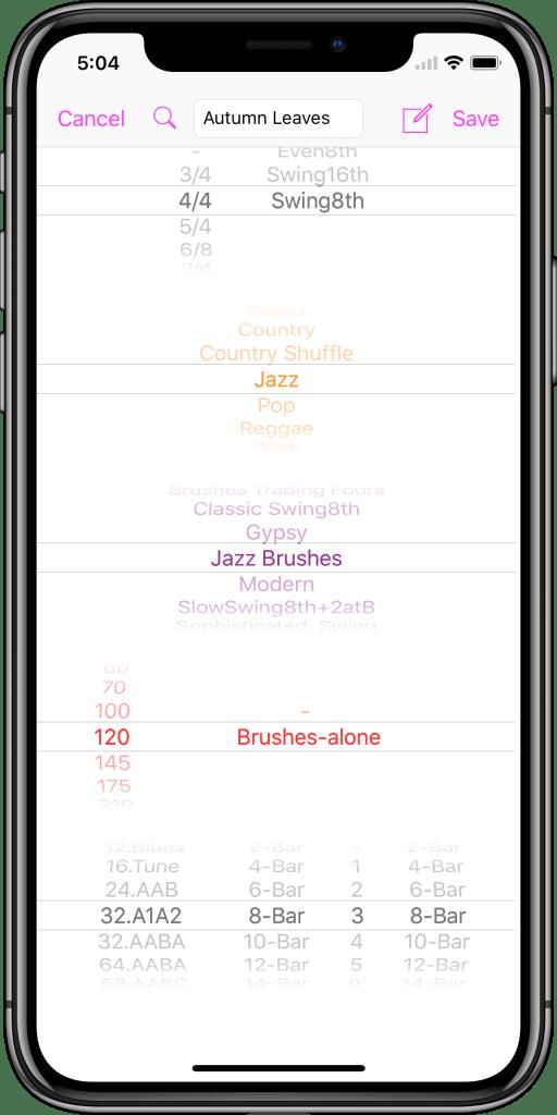 En 美国 IPhone X 02 PickersScreen 框