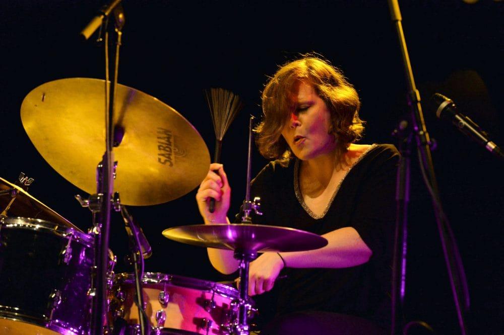 drummer EvaKlesseWithHerQuartet