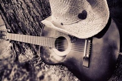 country life Guitar Hat Tree bleachedAndToned x h
