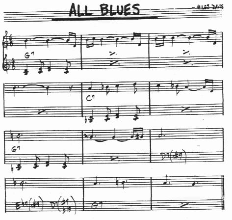All-Blues-Chords