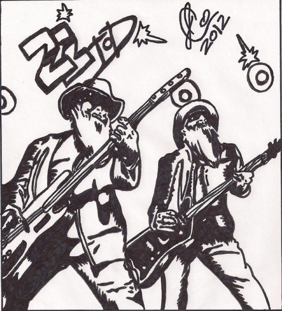 zztop illustration