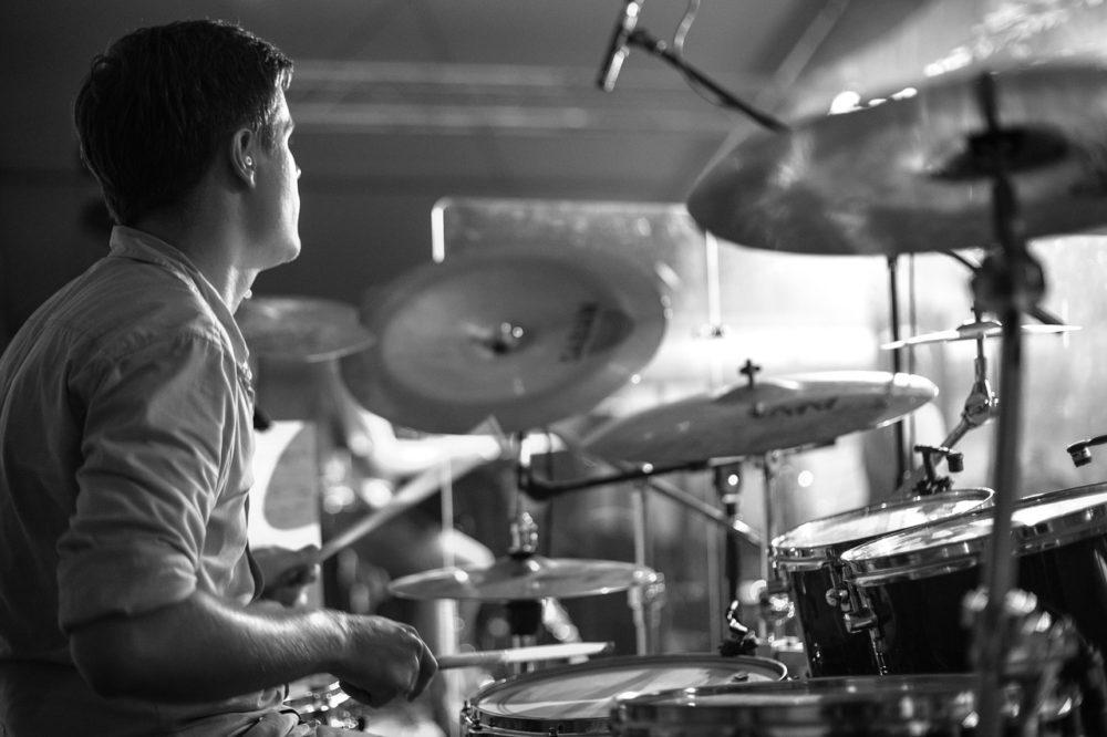 Drumming close-up